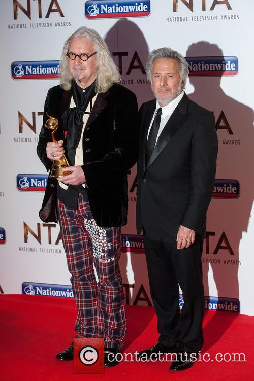 Billy Connolly and Dustin Hoffman