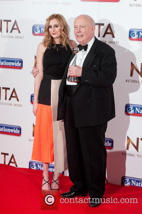 Laura Carmichael and Julian Fellowes