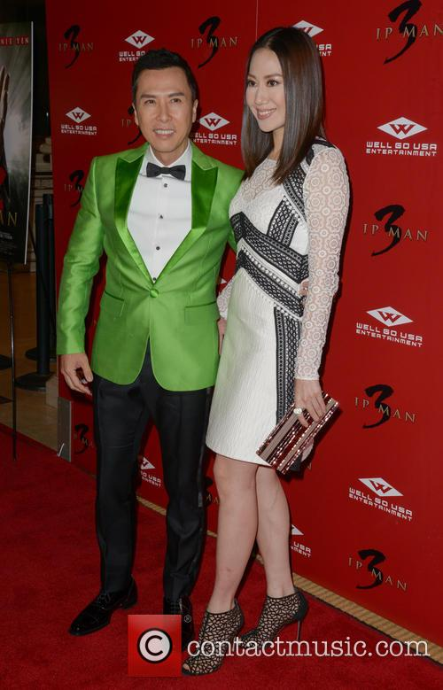 Donnie Yen and Cecilia Cissy Wang 1