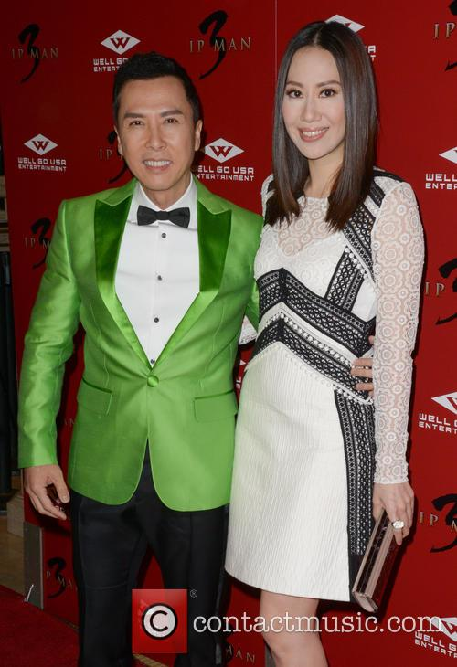 Donnie Yen and Cecilia Cissy Wang 2