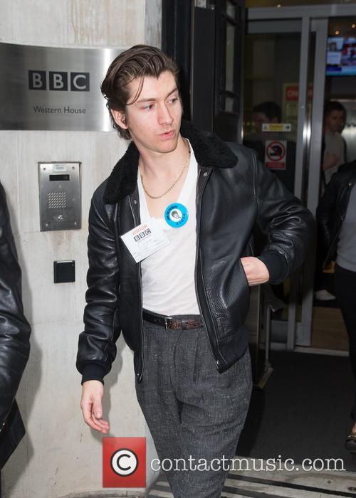 Alex Turner and Arctic Monkeys