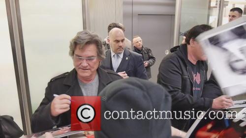 Kurt Russell and Quentin Tarantino 1