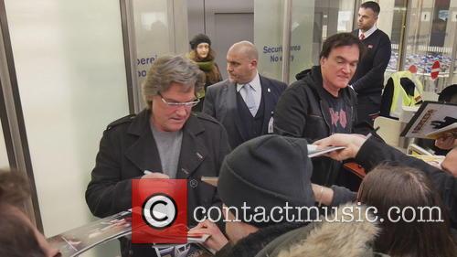 Kurt Russell and Quentin Tarantino 2