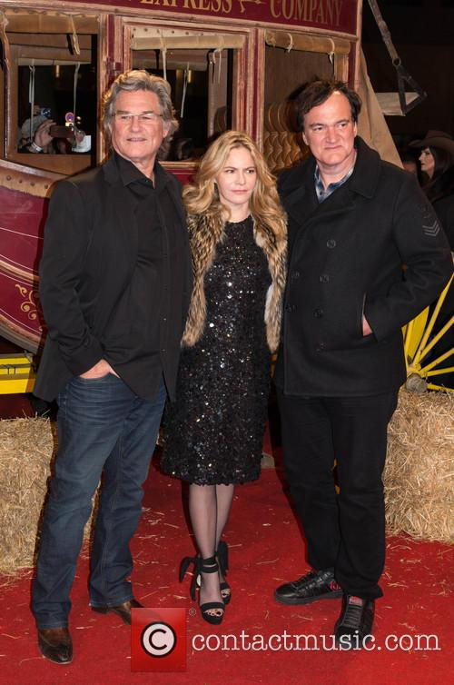 Kurt Russel, Jennifer Jason Leigh and Quentin Tarantino 8