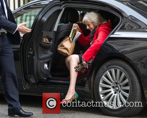 Theresa May and Secretary Of State For The Home Department