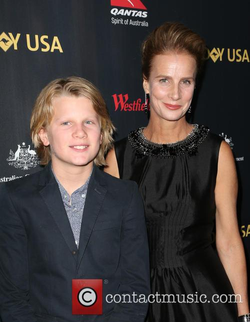 Rachel Griffiths and Banjo Patrick Taylor