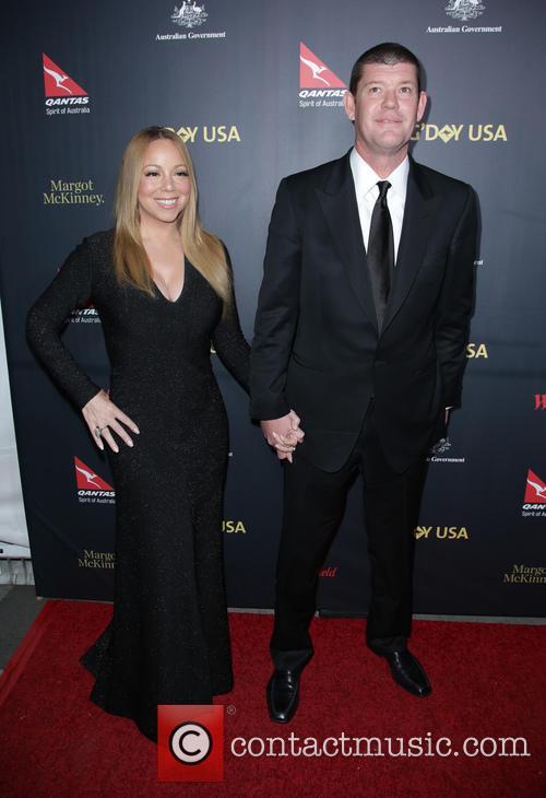 Mariah Carey and James Packer 1