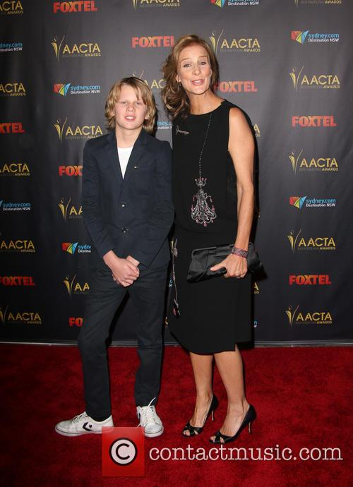 Banjo Taylor and Rachel Griffiths