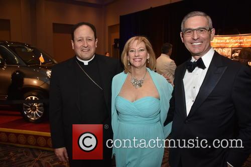 Pope Francis, Bishop John J. Mcintyre, Donna Crilley Farrell and Bob Ciaruffoli 2