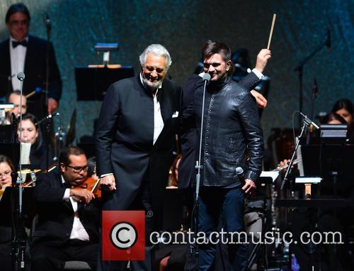 Placido Domingo and Juanes 4