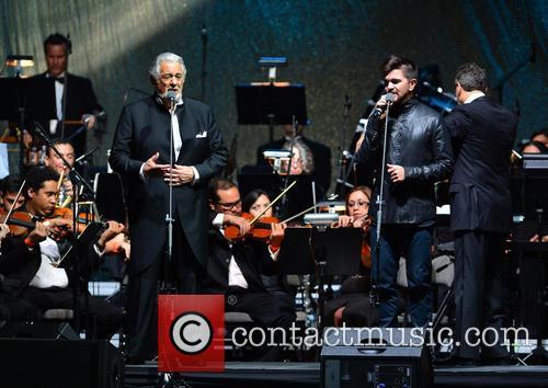 Placido Domingo and Juanes 5