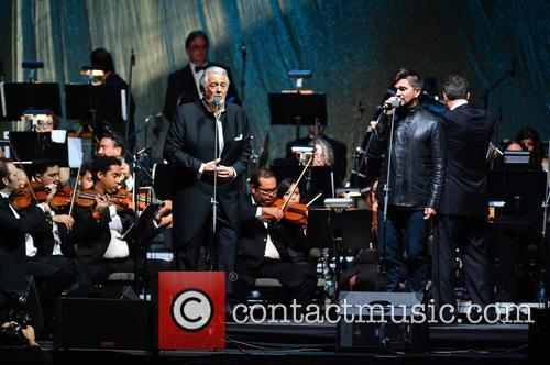 Placido Domingo and Juanes 6