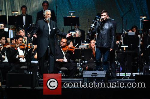 Placido Domingo and Juanes 7