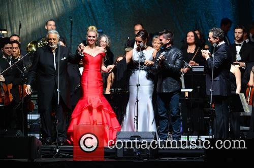 Placido Domingo, Micaela Oeste, Virginia Tola, Juanes and Eugene Kohn 10