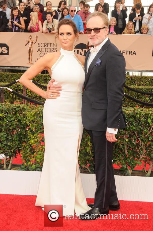 Amy Landecker and Bradley Whitford