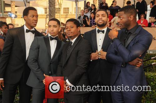 Neil Brown Jr., Jason Mitchell, O'shea Jackson Jr. and Aldis Hodge