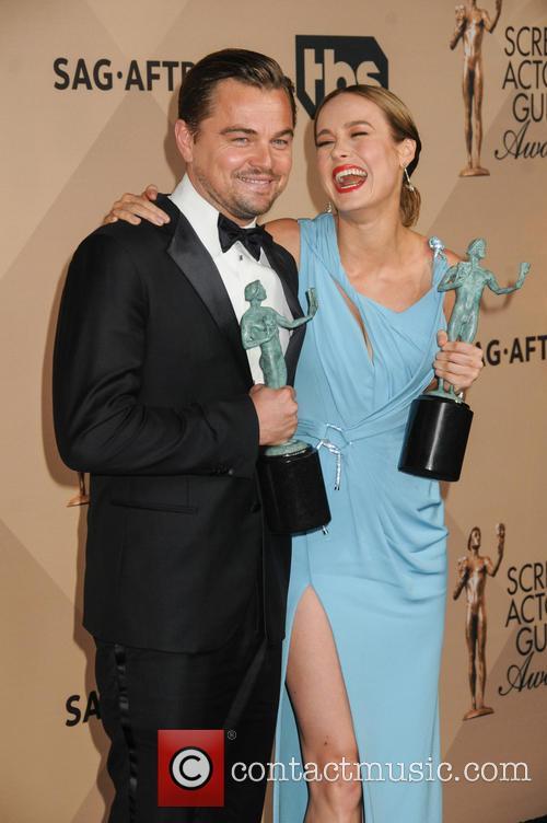 Leonardo Dicaprio and Brie Larson 1