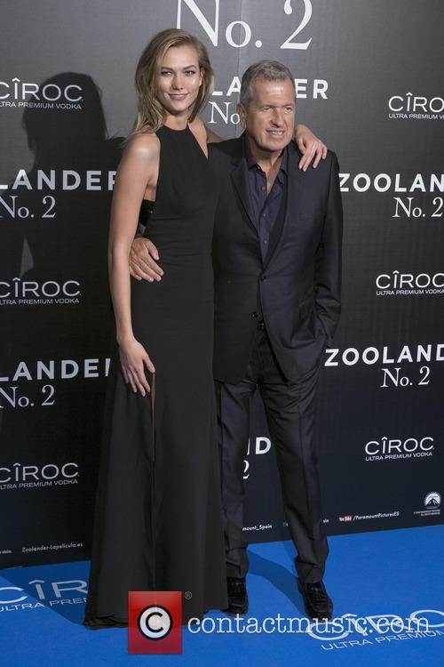 Mario Testino and Karlie Kloss 3