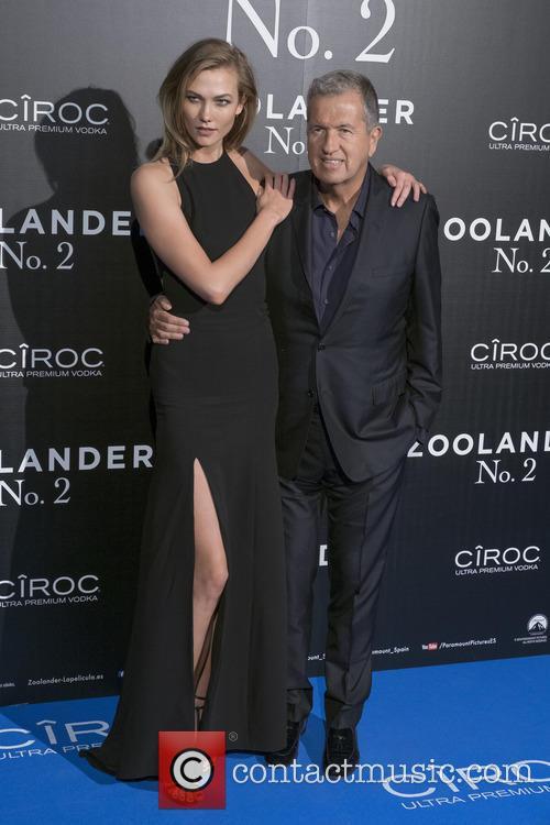 Mario Testino and Karlie Kloss 4