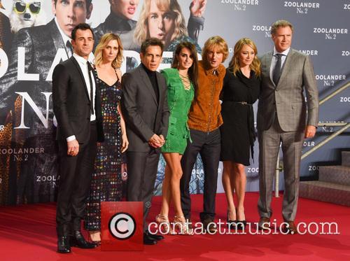 Justin Theroux, Kristen Wiig, Ben Stiller, Penelope Cruz, Owen Wilson, Christine Taylor and Will Ferrell 8