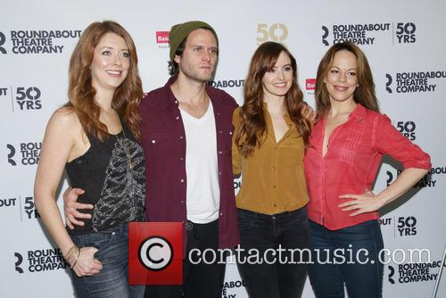 Nadia Quinn, Steven Pasquale, Ahna O'reilly and Leslie Kritzer
