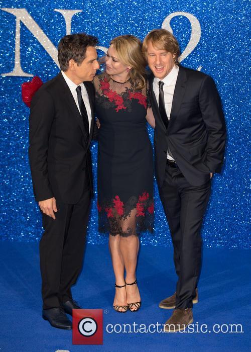 Ben Stiller, Owen Wilson and Christine Taylor