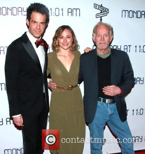 Charles Agron, Briana Evigan and Lance Henriksen