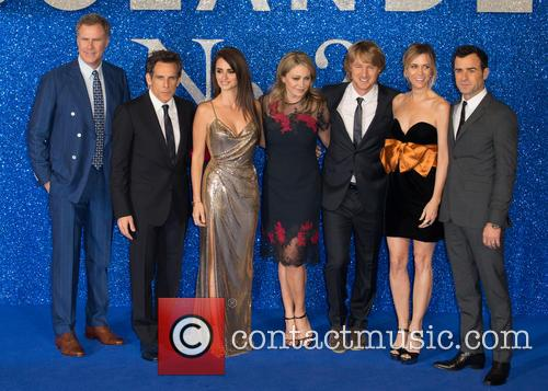 Ben Stiller, Owen Wilson, Christine Taylor, Kristen Wiig, Will Ferrell, Justin Theroux and Penelope Cruz