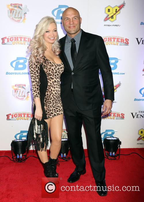Randy Couture and Mindy Robinson 2