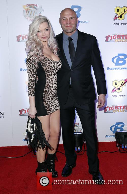 Mindy Robinson and Randy Couture 1