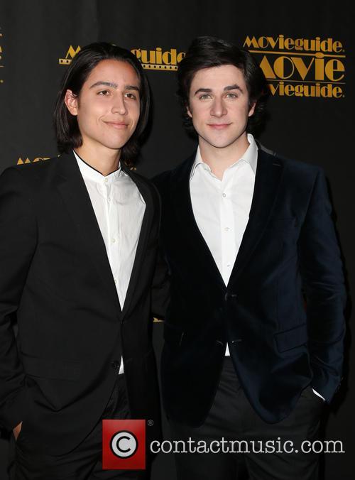 Lorenzo James Henrie and David Henrie 5