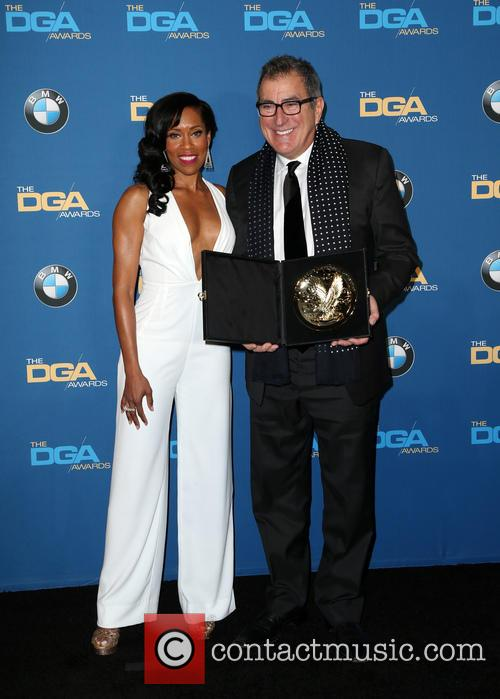 Regina King and Kenny Ortega