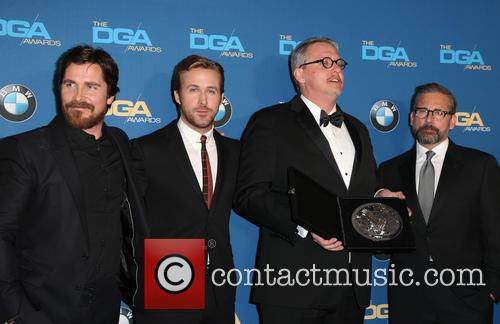Christian Bale, Ryan Gosling, Adam Mckay and Steve Carrell 5