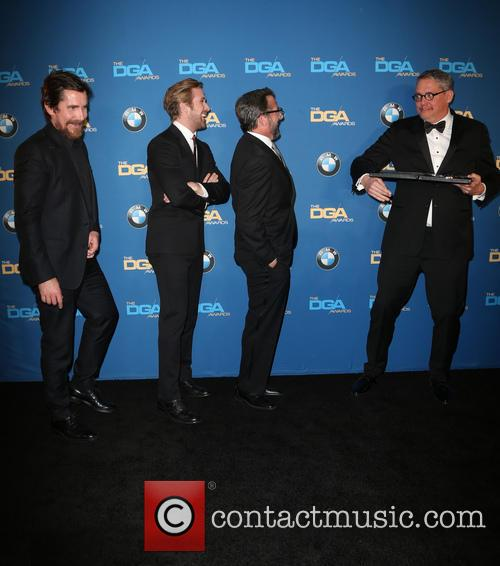 Christian Bale, Ryan Gosling, Steve Carrell and Adam Mckay 9