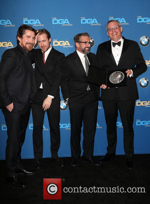 Christian Bale, Ryan Gosling, Steve Carrell and Adam Mckay 10