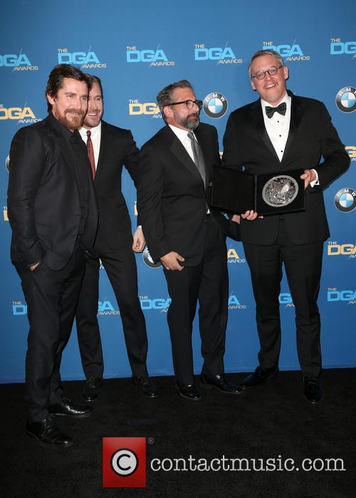 Christian Bale, Ryan Gosling, Steve Carrell and Adam Mckay 11
