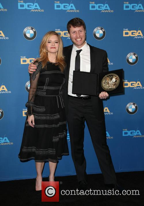 Jennifer Jason Leigh and Matthew Heineman 1