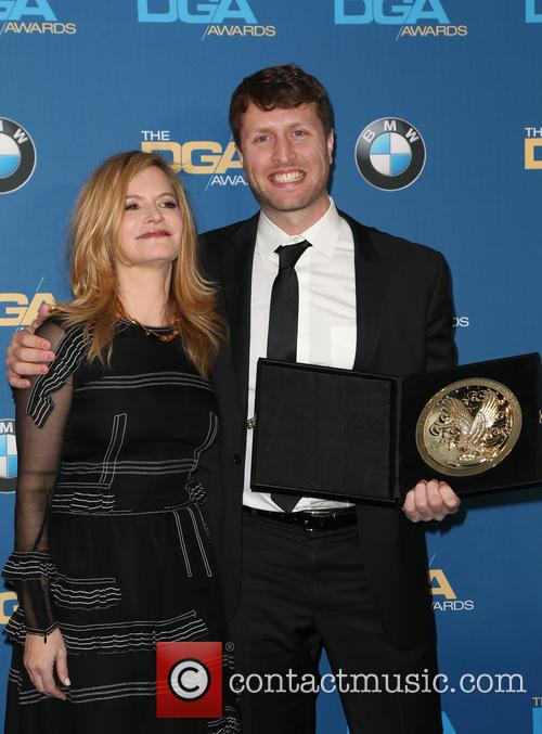 Jennifer Jason Leigh and Matthew Heineman 2