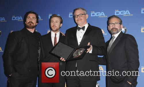 Christian Bale, Ryan Gosling, Adam Mckay and Steve Carrell 1
