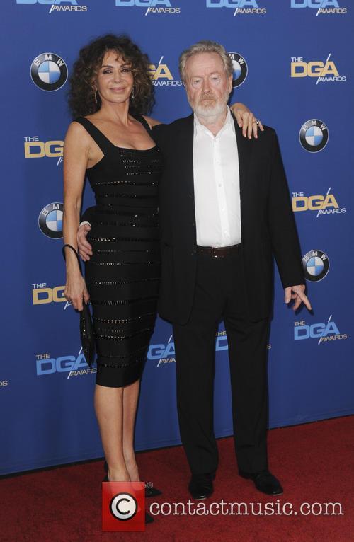 Giannina Facio Scott and Ridley Scott