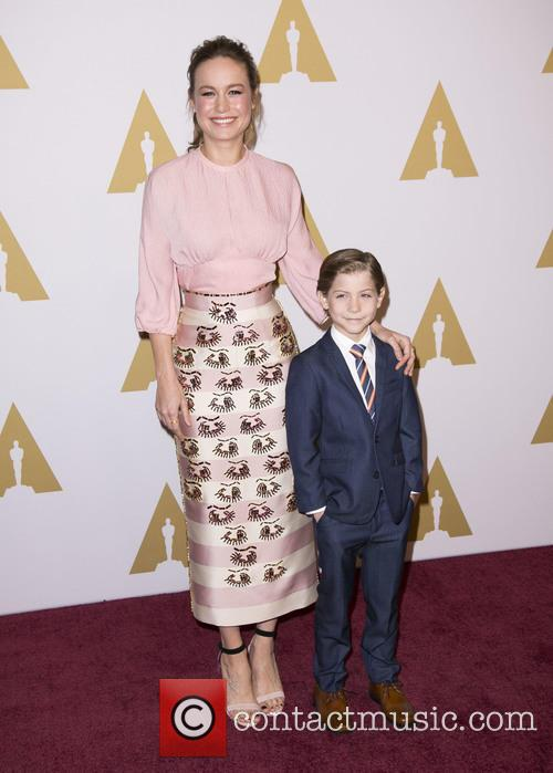Brie Larson and Jacob Tremblay 1