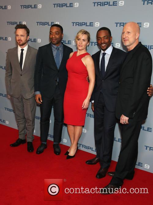Aaron Paul, Chiwetel Ejiofor, Kate Winslet, Anthony Mackie and John Hillcoat 3