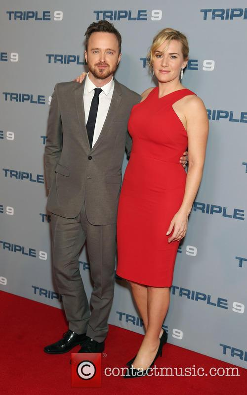 Aaron Paul and Kate Winslet 5