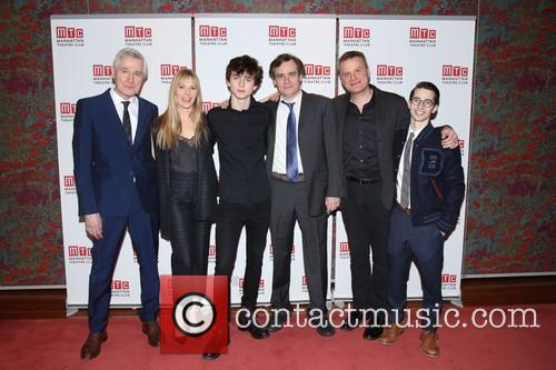 John Patrick Shanley, Annika Boras, Timothée Chalamet, Robert Sean Leonard, Chris Mcgarry and David Potters
