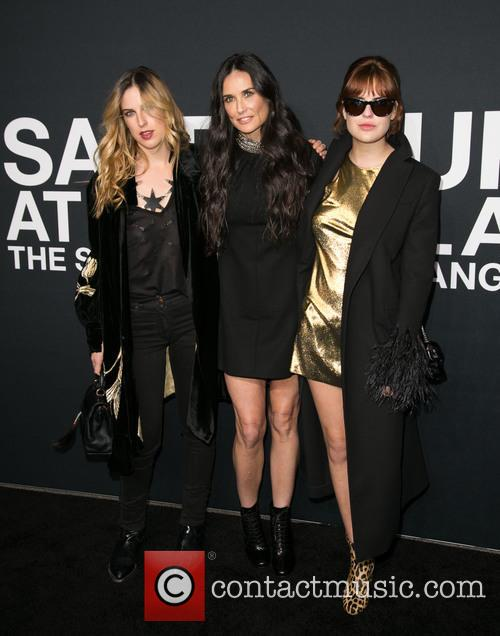 Scout Willis, Demi Moore and Tallulah Willis