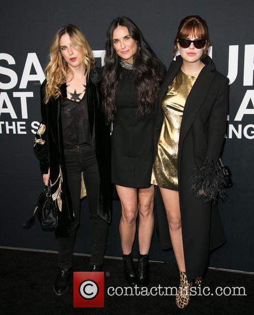 Scout Willis, Demi Moore and Tallulah Willis 2