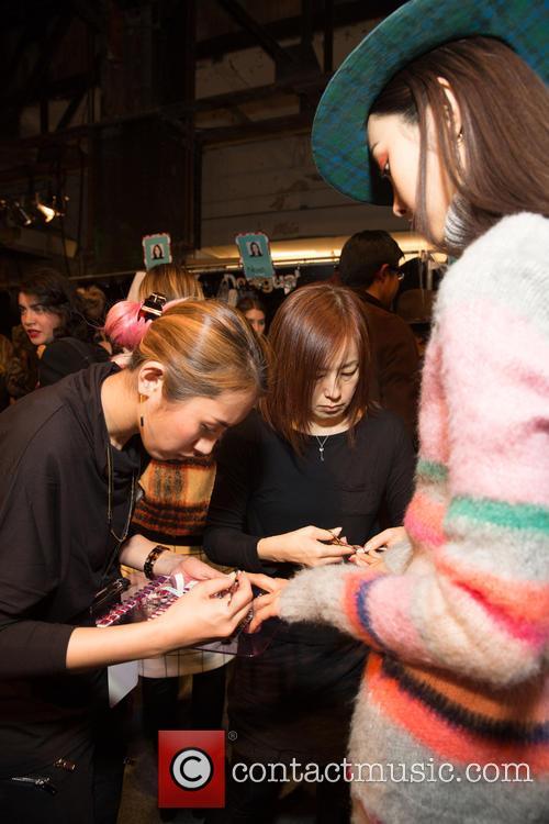 New York Fashion Week, Fall, Desiquel and Backstage 9