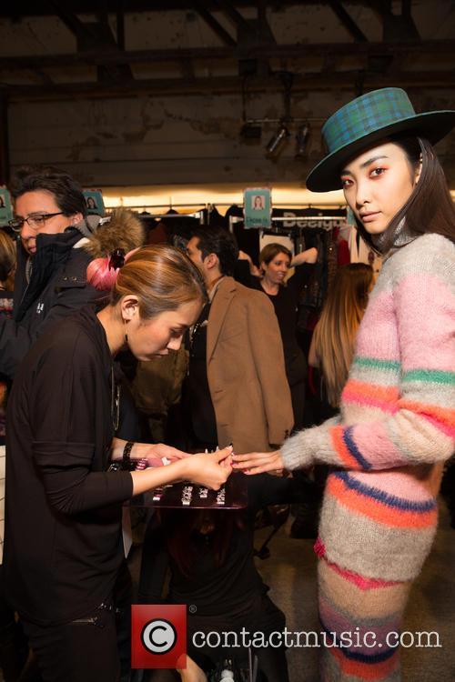 New York Fashion Week, Fall, Desiquel and Backstage 10