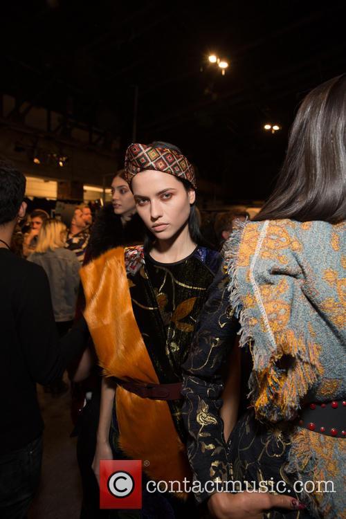 New York Fashion Week, Fall, Desiquel and Backstage 11