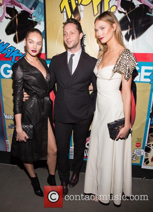 Candice Swanepoel, Derek Blasberg and Karlie Kloss 1
